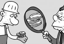 Salarios-dinero