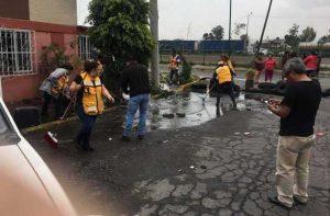 URGE AYUDA A DAMNIFICADOS POR LLUVIAS EN NEZA