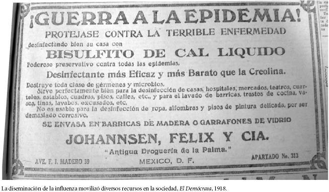 """MÉXICO EN 1918  ACECHADA POR LA""""GRIPE ESPAÑOLA"""""""