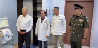 AMLO ENTREGA GESTIÓN DE HOSPITALES AL EJÉRCITO