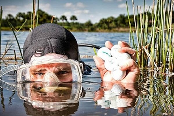 recogedor pelotas golf - pedro valdez valderrama